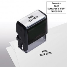Design Your Own Stock Stamp, Medium - Self-Inking - 103047C