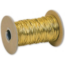 Gold Stretch Cord on Spool, 50 Yds - 2535015