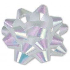 Iridescent Jeweler\'s Size Star Bow, 16 Loops, 1 1/4\
