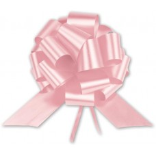 Light Pink Satin Perfect Pull Bows, 18 Loops, 4\