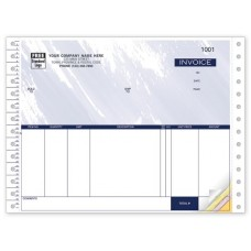Simply Accounting Invoice Forms - Continuous (Duplicate/2-Parts)