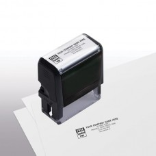 Name & Address Stamp, Medium - Self-Inking Stamp - 8844M