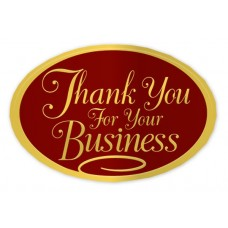Gold Thank You Seal - H1153
