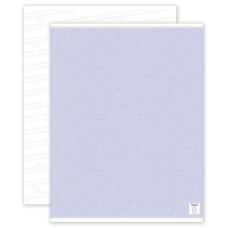 Security Paper Blue, Blank Sheets - SSP01