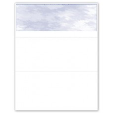 BLANK BLUE TOP CHEQUE - FRENCH - UBUQ985