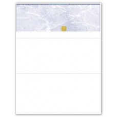 BLANK BLUE TOP SEC CHEQUE - FRENCH - UBUQS85