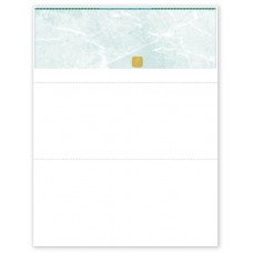 BLANK GREEN TOP SEC CHEQUE - GREEN - UGNQS85