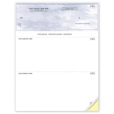 Laser Top Cheque (Duplicate/2-Parts)