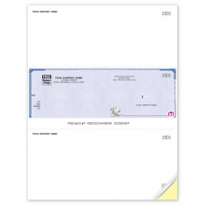 High Security Laser Middle Cheque (Duplicate/2-Parts)