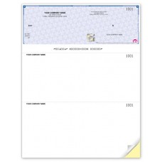 High Security Top Cheques - 22 Security Features (Duplicate/2-Parts)